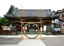 浅草神社の茅ノ輪
