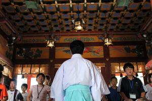 浅草神社 体験学習