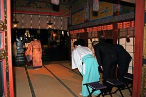 浅草神社 成人奉告祭