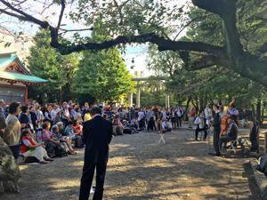 浅草神社東京大衆歌謡楽団