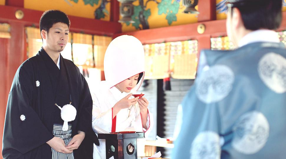 Shinto wedding ceremony