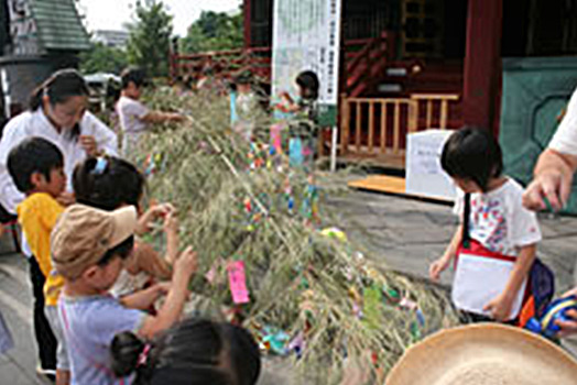 Tanabata Decorating Production Classroom